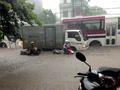 Mưa lớn, Thái Nguyên ngập mênh mông không còn thấy đường