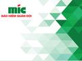 Tổng công ty Bảo hiểm Quân Đội MIG sắp đưa 80 triệu cổ phiếu lên giao dịch trên UpCOM