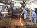 Sản xuất thép xây dựng tăng trưởng ngoạn mục