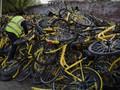 Trung Quốc mạnh tay với xe đạp cho thuê vì tình trạng nhếch nhác trong các đô thị