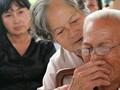 Hình ảnh công tác chuẩn bị lễ tang nguyên Thủ tướng Phan Văn Khải ở quê nhà
