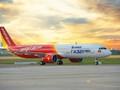 Vietjet Air hủy 4 chuyến đi và đến sân bay Vinh do ảnh hưởng của bão