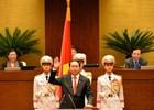 [Video]: Chủ tịch nước Trần Đại Quang tuyên thệ nhậm chức