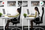 Là dân văn phòng, bạn nhất định không được bỏ qua bài viết này: 5 tư thế vàng khi ngồi làm việc!
