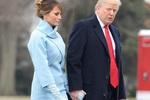 Gu thời trang tinh tế của Đệ nhất phu nhân Melania Trump trong ngày chồng nhậm chức