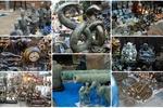 """Độc đáo những món đồ cổ """"thật giả lẫn lộn"""" tại chợ Tết Hà Nội"""