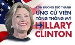 Con đường trở thành ứng viên tổng thống của Hillary Clinton