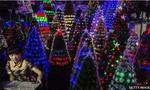 Giáng sinh diễn ra mỗi ngày ở ngôi làng Trung Quốc