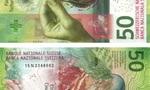 Đồng 50 Franc của Thụy Sĩ đạt giải đồng tiền của năm