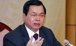 UBTVQH ra nghị quyết kỷ luật ông Vũ Huy Hoàng