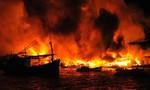 Cả khu dân cư ở Nha Trang chìm trong biển lửa