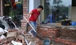 Muôn kiểu tự chế bậc tam cấp của dân Hà Nội để vào nhà