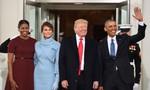 Trump tới Nhà Trắng, Obama chào từ biệt