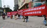 10 ngày căng băng rôn phản đối chủ đầu tư của cư dân Hồ Gươm Plaza