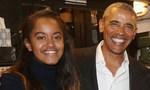 Cựu tổng thống Mỹ Obama cùng con gái đi xem kịch ở Broadway