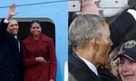 Barack Obama vẫy tay chào tạm biệt lên máy bay, người dân đứng khóc trong tiếc nuối
