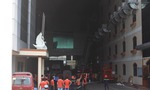 Cháy lớn tại công ty may, nghìn công nhân bỏ chạy