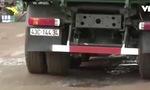 Né trạm cân, xe tải phá nát đường giao thông ở Quảng Nam