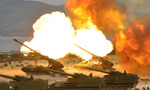 Bán đảo Triều Tiên chìm trong khói lửa tập trận