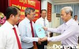 Trao quyết định của Ban bí thư Trung ương Đảng về công tác cán bộ