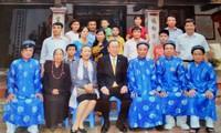 Ông Ban Ki-moon về Việt Nam nhận là con cháu họ Phan?