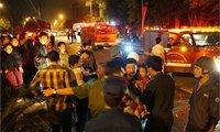 Cháy CT4 Xa La: Dân tưởng báo cháy giả