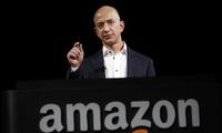 Tài sản tăng nhanh, CEO Amazon vươn lên giàu thứ 3 nước Mỹ