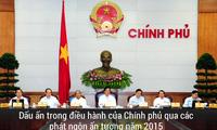 Những phát ngôn ấn tượng trong điều hành Chính phủ 2015