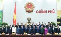 Phân công công tác Thủ tướng và 5 phó thủ tướng