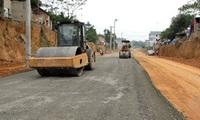 Hơn 95 tỷ đồng làm 1,4 km đường