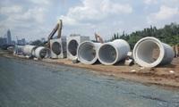 Đại Quang Minh lên tiếng vụ việc có dấu hiệu bảo kê đổ đất, chất thải trong phạm vi dự án 4 tuyến đường Thủ Thiêm