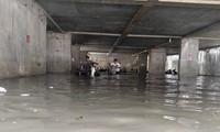 Hầm giữ xe thành hầm chứa nước, ngỡ ngàng chưa có chuẩn