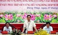 Bàn giải pháp tái cơ cấu nông nghiệp ĐBSCL