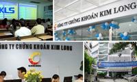 Chứng khoán Kim Long thanh toán nốt tiền cho cổ đông vào ngày 8/9
