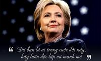 """Những câu nói Hillary Clinton khiến một nửa thế giới """"rung động"""""""