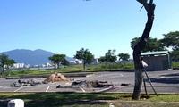 """Đà Nẵng: Dân phản đối """"xén"""" đất công viên xây bãi đỗ xe"""