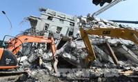 Sống sót sau 56 giờ bị chôn vùi sau động đất ở Đài Loan