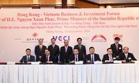 Doanh nghiệp Việt Nam - Hong Kong ký thỏa thuận thương mại trị giá 10 tỷ USD
