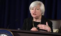Chứng khoán Mỹ biến động mạnh vì lời bóng gió của Chủ tịch Fed
