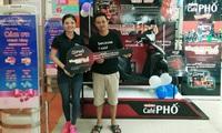 """Café Phố trao thưởng 33 chiếc Honda Vision trong chương trình """"Uống Café Phố, vi vu phố"""""""