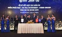 Phát Đạt ký hợp tác với An Gia, Creed group, kỳ vọng giảm tỷ lệ đòn bẩy tài chính