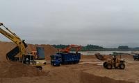 Giá cát xây dựng tăng chóng mặt