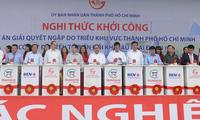 TP HCM khởi công dự án chống ngập 10.000 tỷ đồng