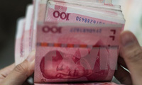 Trung Quốc rút 10 tỷ nhân dân tệ ra khỏi thị trường tài chính