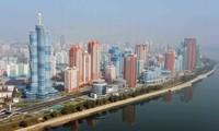 Những hình ảnh ấn tượng về cao ốc trọc trời ùn ùn mọc lên ở Triều Tiên