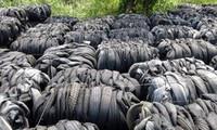Điều tra nhập khẩu lốp xe cũ tồn đọng tại cảng