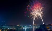 Tết Nguyên đán 2017, Hà Nội bắn pháo hoa 30 điểm