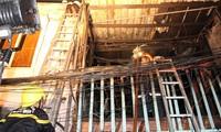 Cháy ở khu phố Tây, nhiều người Sài Gòn hốt hoảng