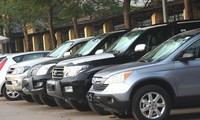 Dôi khoảng 7.000 xe công phục vụ công tác chung