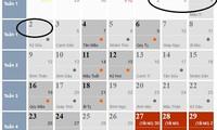 Tết Dương lịch 2017, người lao động được nghỉ mấy ngày?